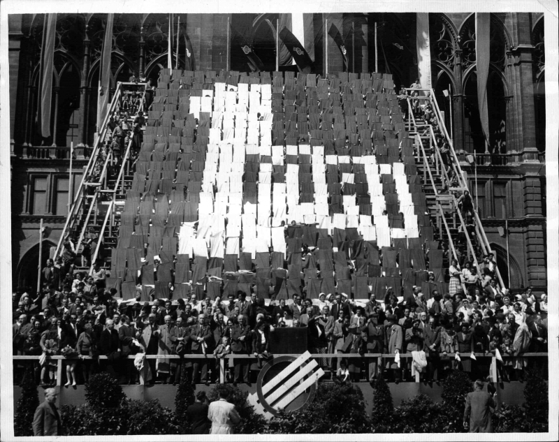 1. mai 1950 in Wien
