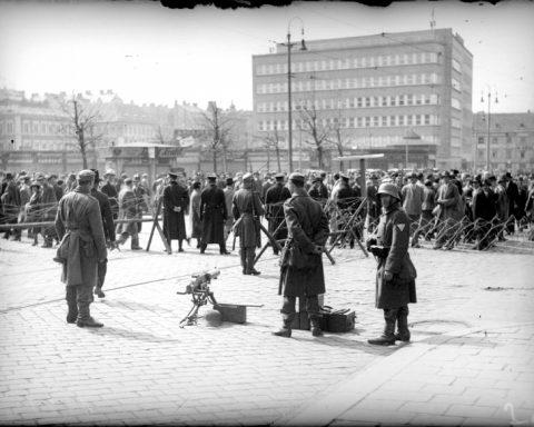Demonstartionsverbot Wien 1931